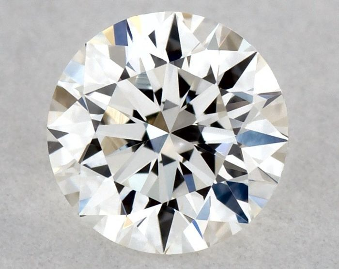 1 pcs Diamant - 0.23 ct - Brillant, Rond - G - VVS2, * 3EX *, Low Reserve Price