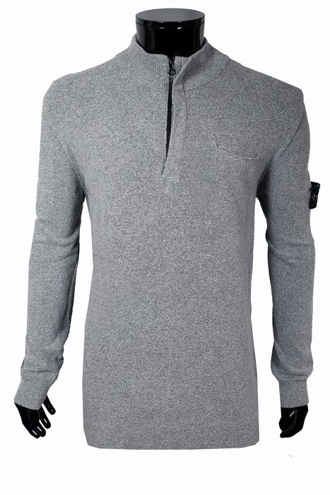 Stone Island - Pull zippé à poche simple - Taille: IT54/56  Maat XXL