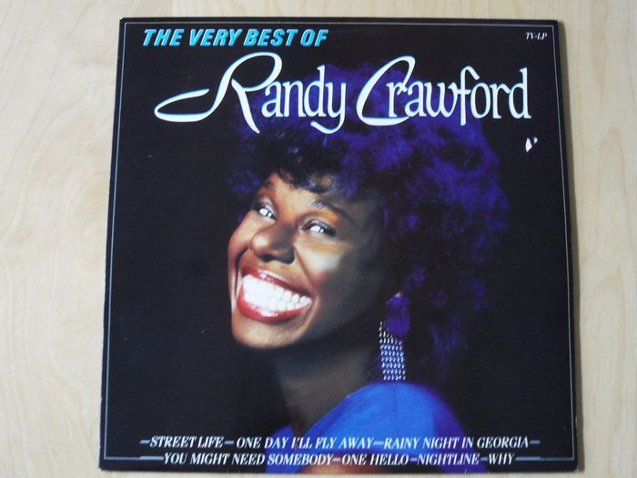 Great recordings from Randy Crawford and related on 9 LP Albums - LP's - 1980/1985