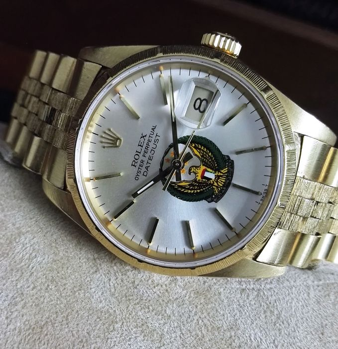 Rolex - Oyster Perpetual Datejust UAE - 16248 - Heren - 1980-1989