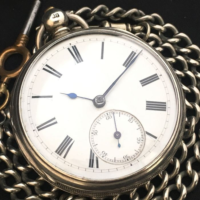Antique Fusee Pocket watch - Homme - 1874