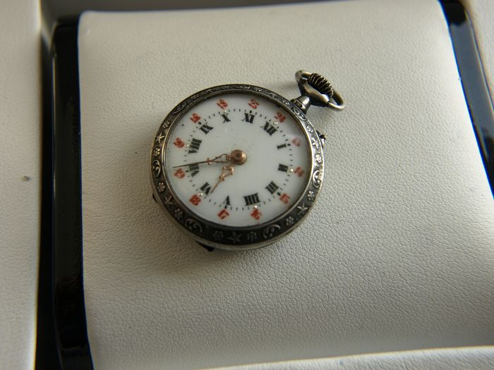 Remontoir - silver pocket watch NO RESERVE PRICE - - 556082 - Homme - '900
