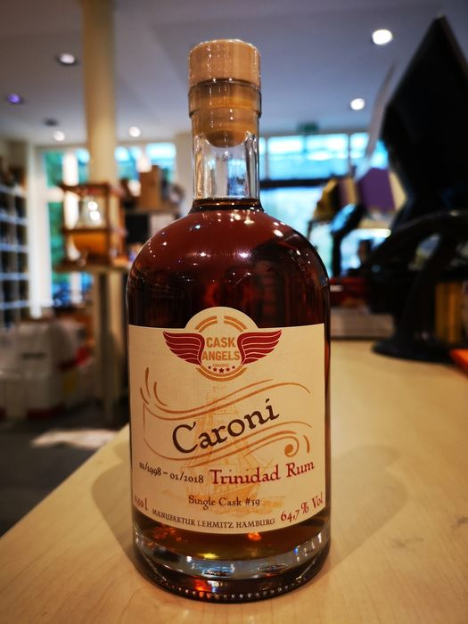 Caroni 1998 20 years old Cask Angels - Manufaktur Lehmitz Hamburg - 500ml