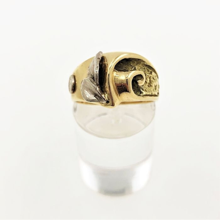 RIMAS Gioelli - 18 kt. White gold, Yellow gold - Ring