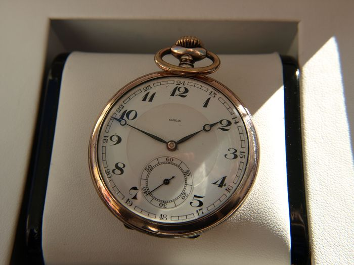 Gala Omega Watch Co. SA / Louis Brandt & Frere - silver pocket watch NO RESERVE PRICE  - 673142 - Homme - 1901-1949