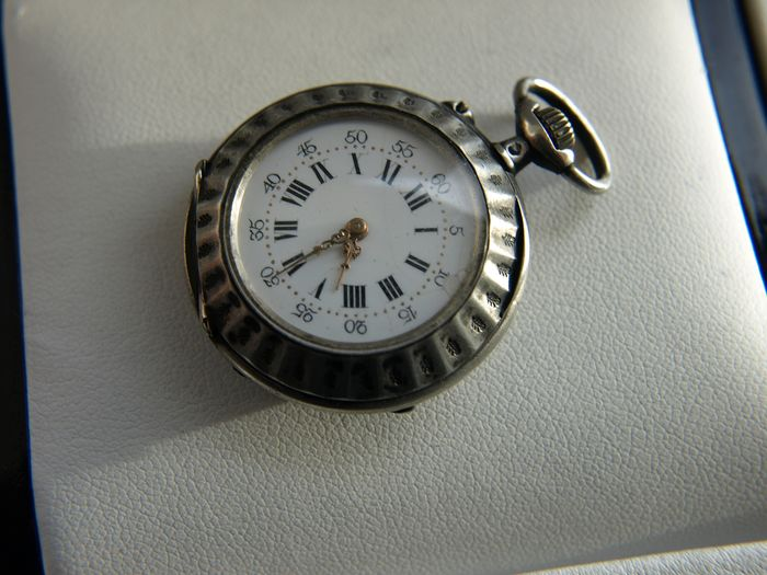 Remontoir - silver pocket watch NO RESERVE PRICE - - 29430 - Homme - '900