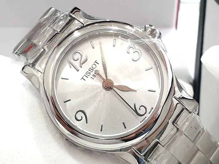 """Tissot - """" NO RESERVE PRICE """" STYLIS-T - Stainless Steel  - T028.210.11.037.00 - Swiss Made Movement - Mujer - 2011 - actualidad"""