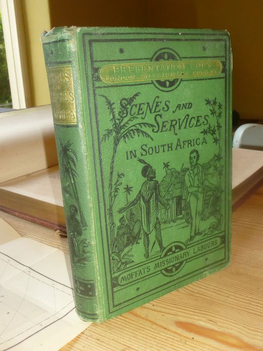 Robert Moffat - Scenes and services in South Africa - 1876