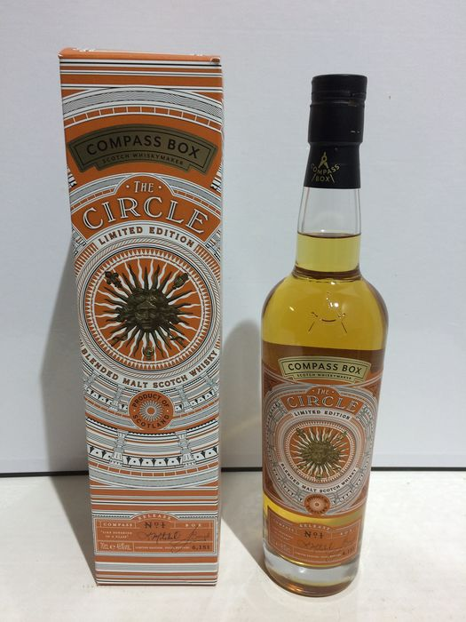Compass Box - The Circle n°7 - Limited Édition - 70cl
