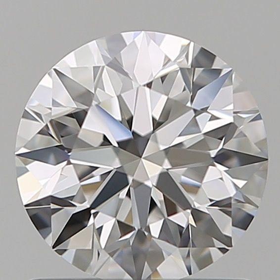 1 pcs Diamant - 0.90 ct - Brillant - E - IF (makellos), ***3EX***
