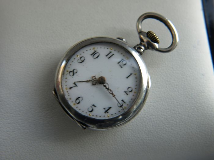 Beurret Freres   - silver pocket watch NO RESERVE PRICE  - 30233 - Homme - 1901-1949