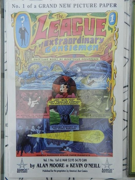 Vari - League of Extraordinary Gentlemen set with limited series and specials / graphic novels - 25x - Broché - EO - (1999/2015)