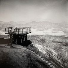 Michael Kenna (1953-) - DMZ, The 38th Parallel, Korea