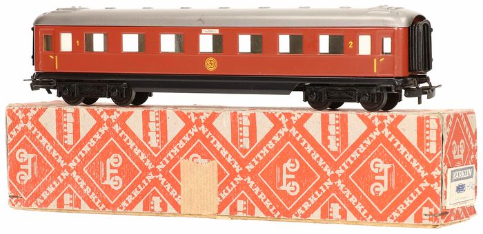 Märklin H0 - 4020 - Passenger carriage - Car of the Swedish railways - SJ