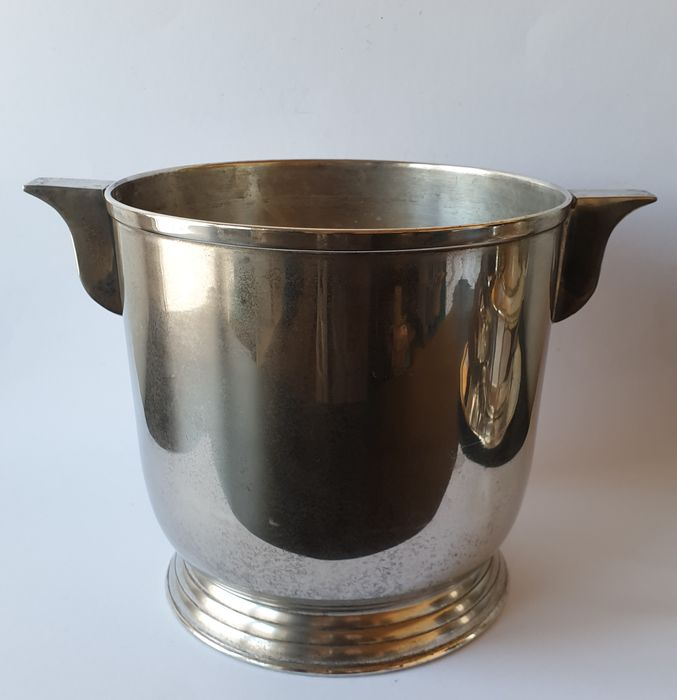 Royal EPNS Collection by Simla - Art deco wine / champagne cooler for several bottles - Silverplate