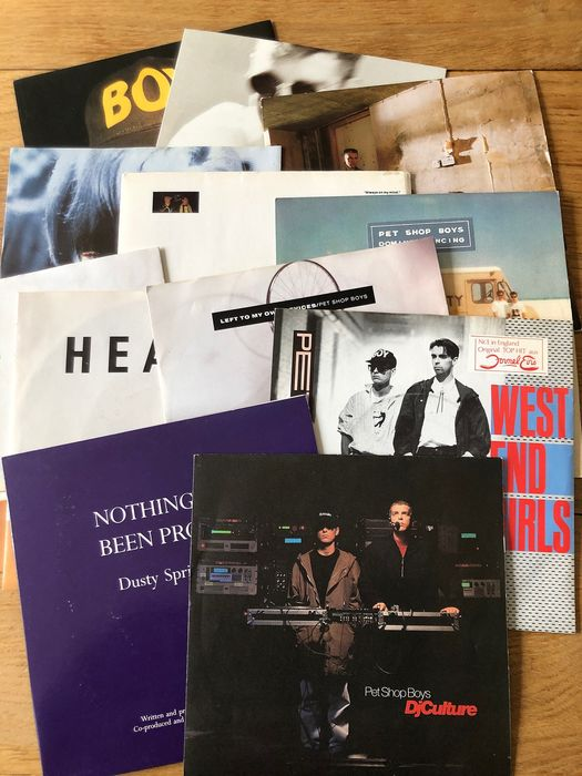 Pet Shop Boys - Collection of 12 singles from various countries incl. special editions - Multiple titles - 45 rpm Single - 1985/1991