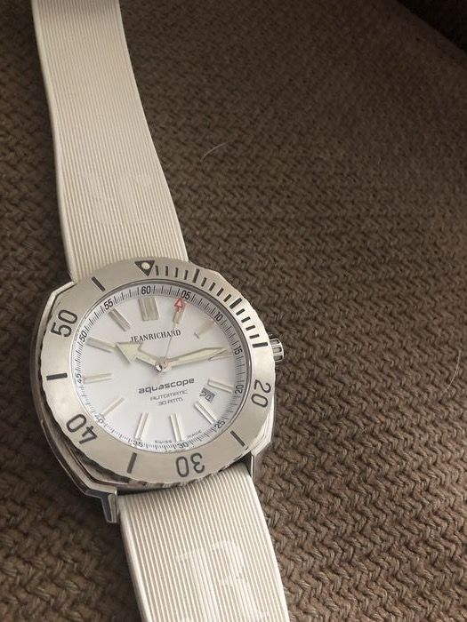JeanRichard - ( Girard Perregaux sister brand) - AQUASCOPE White dial -Ltd edition-Full set-2019 -Collectors item - 60500-11-701 - HDC0- virtually impossible to find - Homme - 2019