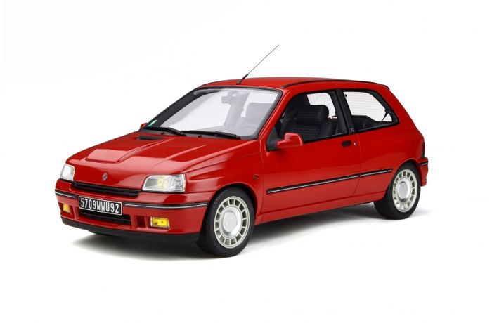 Otto Mobile - 1:12 - Renault Clio 16S Ph.1 - Limited to 999 copies only