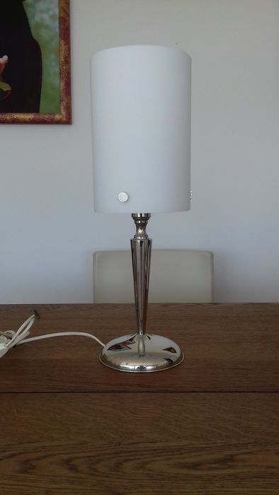 Table lamp - .800 silver - Italy - Second half 20th century