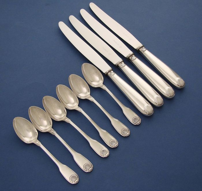 Vendome Christofle - cutlery parts (10) - heavily plated
