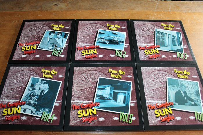 Various Artists/Bands in 1960's - The Complete Sun Singles 6x Box - Multiple titles - CD Box set - 1994/1997