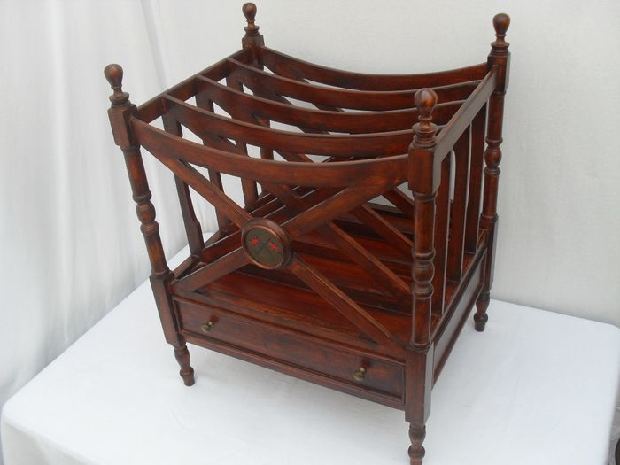 Canterbury Reading Tray With Drawer