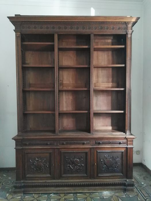 Bookcase, Display cabinet, Sideboard - Wood - 19th century
