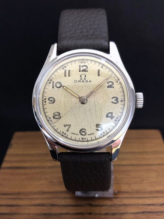 Omega - 2384-7 Cal 30T2 From 1947 - Homme - 1947