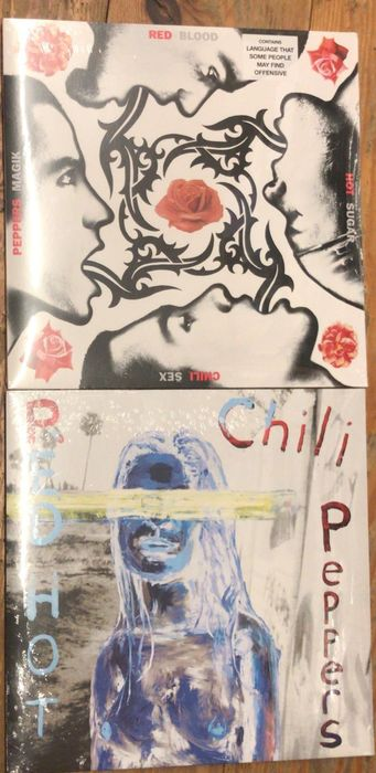 Red Hot Chili Peppers - By the way ||  Blood Sugar Sex Magik ||  - Múltiples títulos - LP - 2002/2011