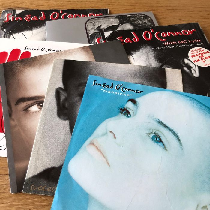 Sinead O'Connor - Collection of 7 picture sleeve singles - Multiple titles - 45 rpm Single - 1988/1992