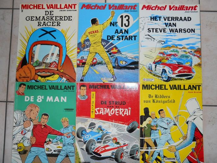 Michel Vaillant - Diverse titels - Softcover - Different editions