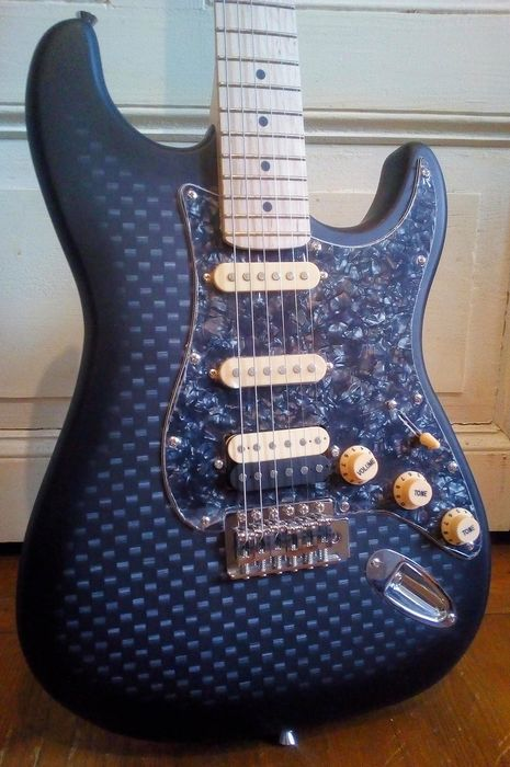 Vision - Customised ST & Accessoires - Mint like New ! - Electric guitar - 2019