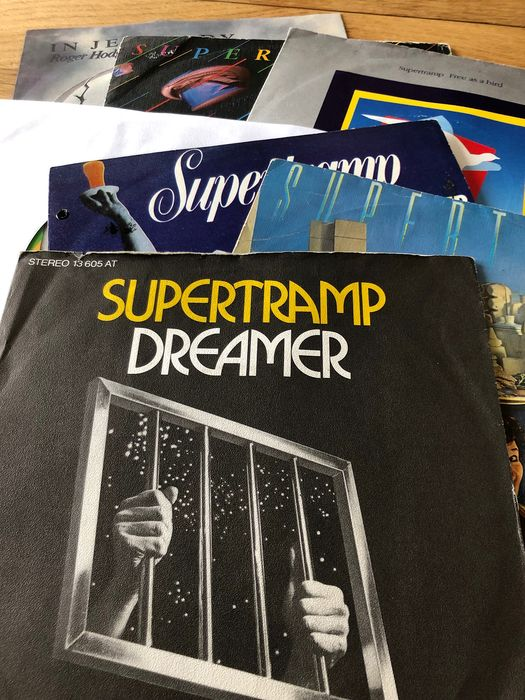 Supertramp, Supertramp & Related - Collection of 7 singles including promos - Multiple titles - 45 rpm Single - 1974/1987