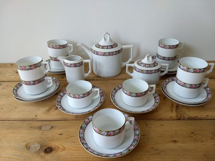 Coffee service - Porcelain