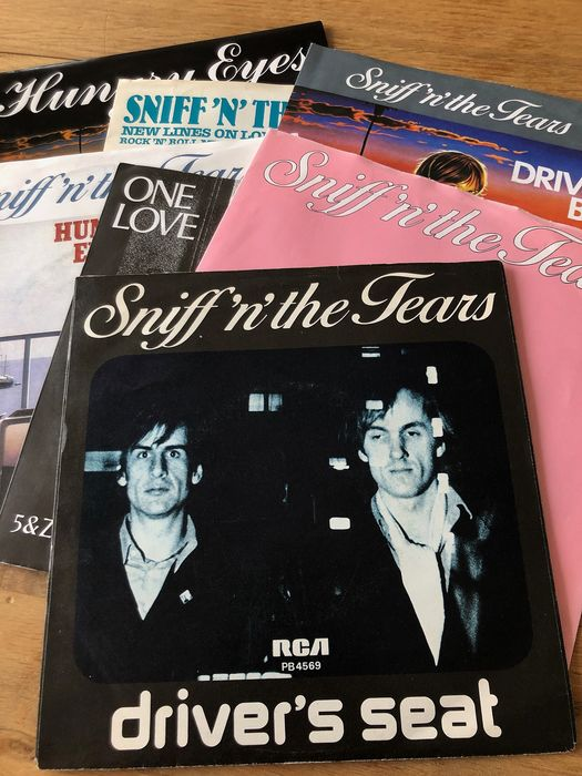Sniff 'n' The Tears - Collection of 7 picture sleeve singles by the new wave band - Multiple titles - 45 rpm Single - 1980/1991
