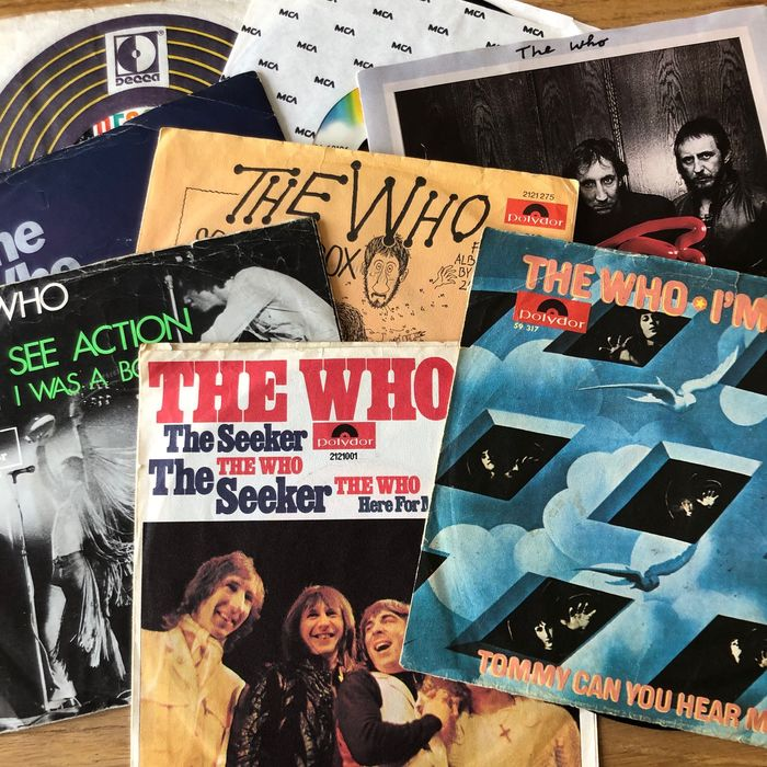 Who - Collection of 8 singles - Multiple titles - 45 rpm Single - 1968/1981