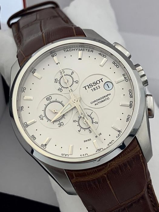 """Tissot - Couturier Automatic Chronograph - """"NO RESERVE PRICE""""   - T035.627.16.031.00 - Herre - 2011-nå"""