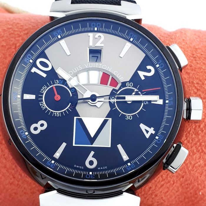Louis Vuitton -  Tambour America Cup Limited  - Q102 G - Heren - 2011-heden