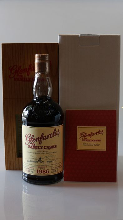 Glenfarclas 1986 Family Casks Release IX #4336 Only 574 bts - b. 2012 - 700ml