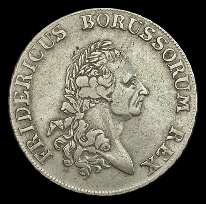 Germany - Prussia Thaler 1777 A - Silver