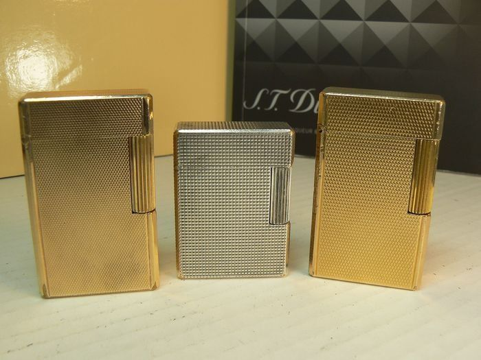 Dupont - Lot of three lighters - Collection