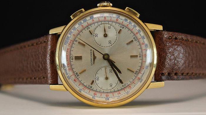 Longines - Chronograph Flyback 30ch - Heren - 1950-1959