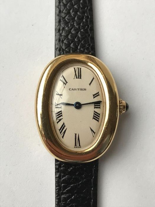 "Cartier - Baignoire Gold 18K - ""NO RESERVE PRICE"" - 866044 - Women - 1990-1999"