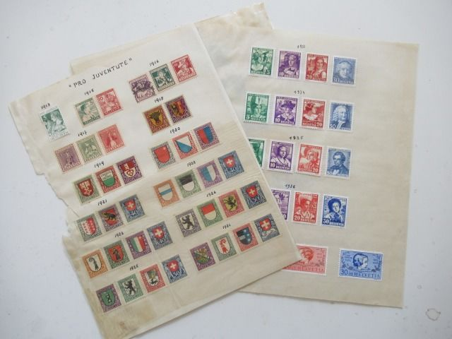 Switzerland 1913/1937 - Pro Juventute collection