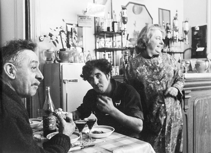Robert Doisneau (1912-1994) - Unknown, French Restaurant, c.1960's