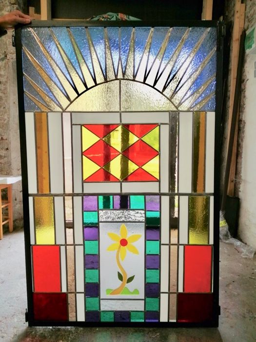 chorfi Douidi - stained glass (1) - Glass (stained glass)