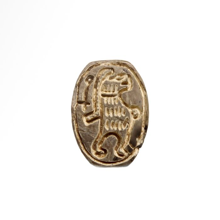 Ancient Egyptian Steatite  Scarab with Standing Hippo Taweret