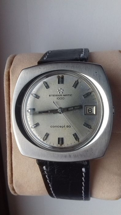 Eterna-Matic - 1000 – Concept 80 – Steel – NO RESERVE PRICE - 135 T - Herren - 1970-1979