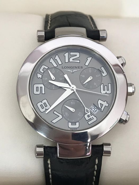 Longines - Dolce Vita Chronograph Double Second  - L.5.677.4 - Heren - 2011-heden