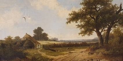 Hendrik Pieter Koekkoek (1843-1927) - View in Surrey